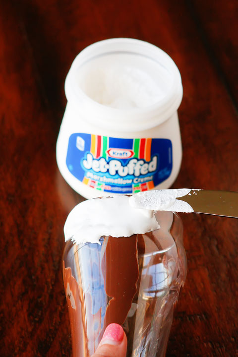 Crazy milkshakes are all the hype in NYC, London, and Australia. Now you can skip the flight and 3-4 hour wait in line and make them right at home!! Such a fun idea for a party. MUST try this!!