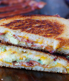Image of Bacon & Avocado Grilled Cheese