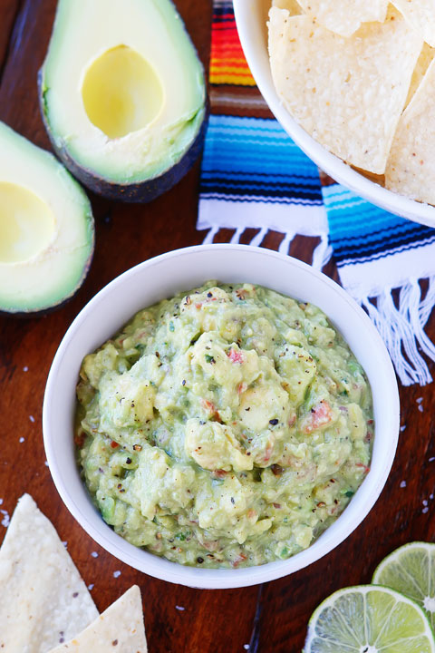 This is literally the BEST guacamole recipe ever!!