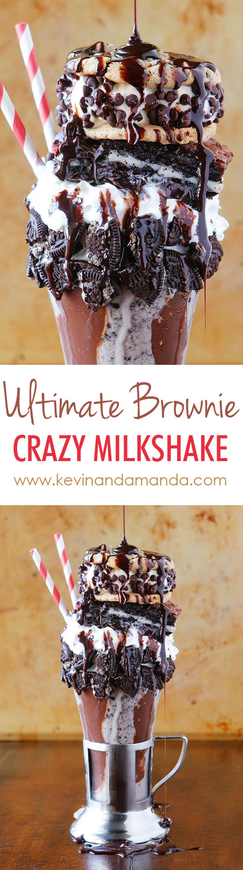 Crazy milkshakes are all the hype in NYC, London, and Australia. Now you can skip the cross country flight AND 4-5 hour wait in line and make them right at home!! Such a fun idea for a party. MUST try this!!