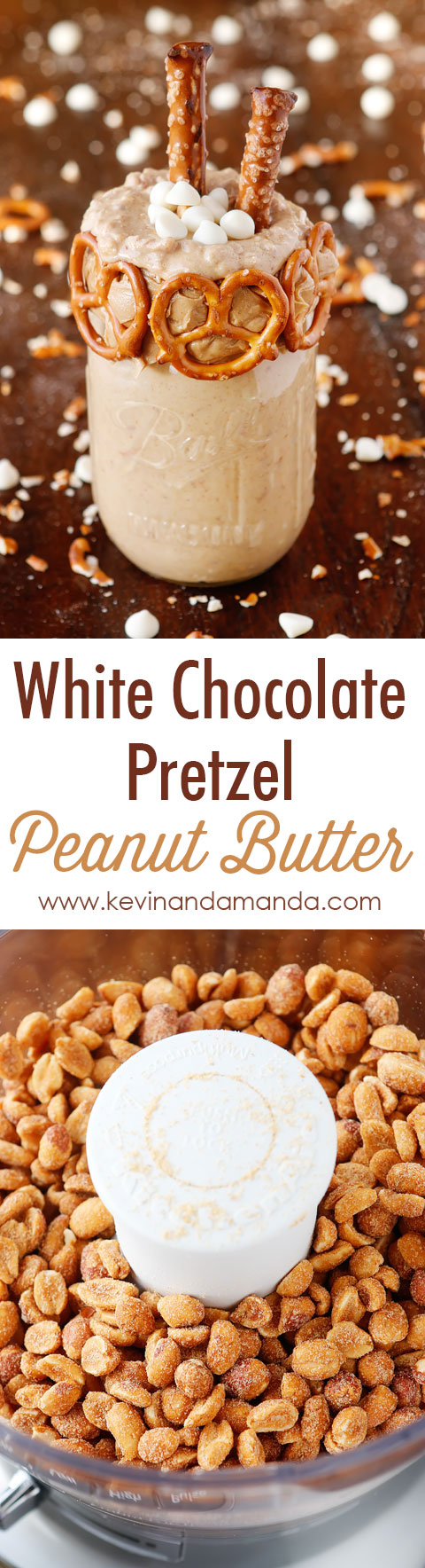 White Chocolate Pretzel Peanut Butter. This is literally the BEST thing I have EVER tasted!!!