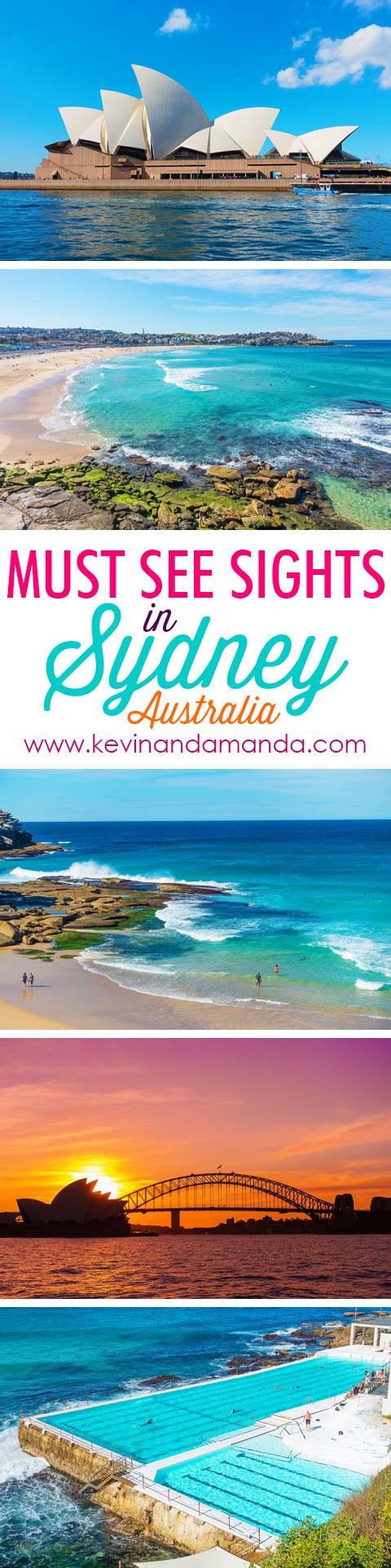 Add these stunning Sydney, Australia sights to your bucket list ASAP!