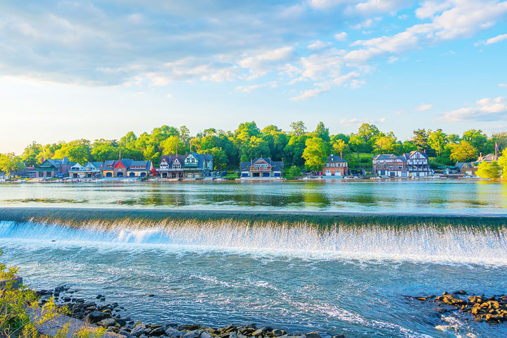 Things To Do in Philadelphia - Boathouse Row