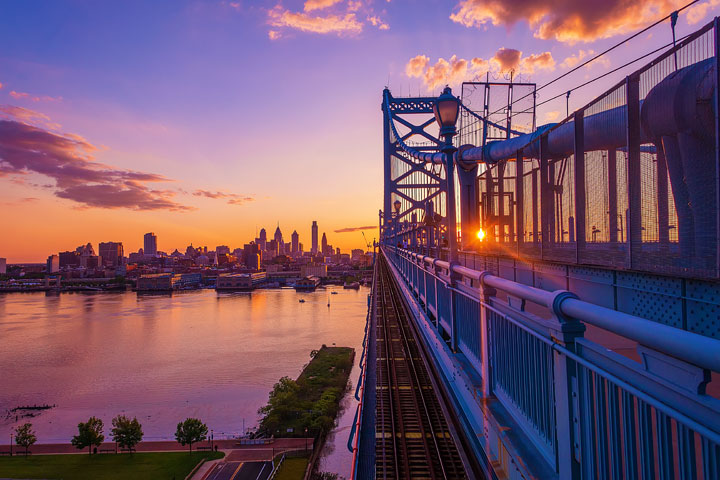 Things To Do in Philadelphia - Ben Franklin Bridge