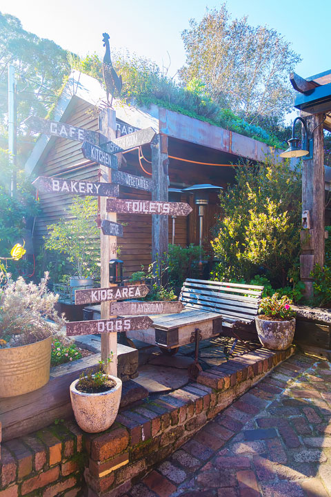 The Grounds of Alexandria. Breakfast and Brunch Cafe in Sydney, Australia. Don't miss the farmer's market on the weekends!