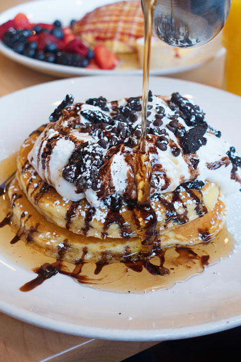 Image of Oreo S'mores Pancakes from Snooze AM Eatery