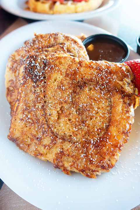 Image of Cinnamon Bun French Toast from Sassy's Bakery
