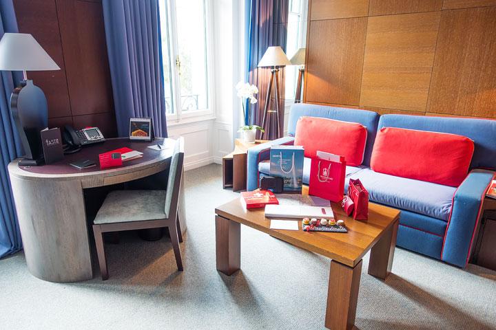 The best luxury hotel in Geneva, Switzerland!