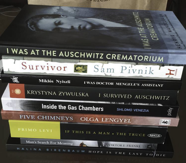 Books about Auschwitz