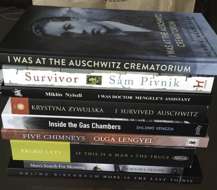 Books about Auschwitz
