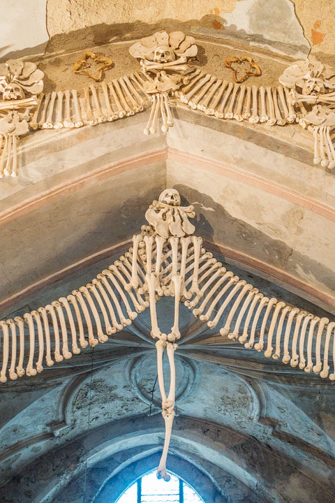 Take a day trip from Prague to Kutna Hora to see the infamous Bone Church!