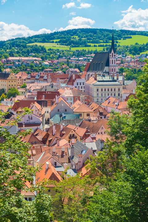 Day Trip from Prague to Cesky Krumlov! The most beautiful, charming, fairytale village in Europe!