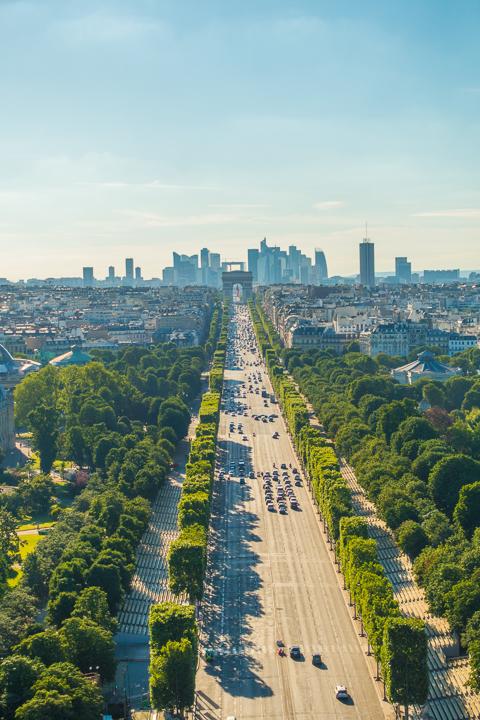 Bastille Day in Paris, France