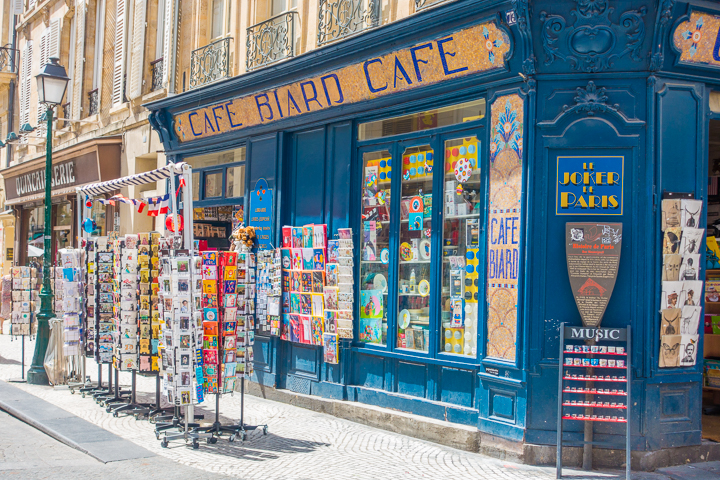 Shopping In Paris, France