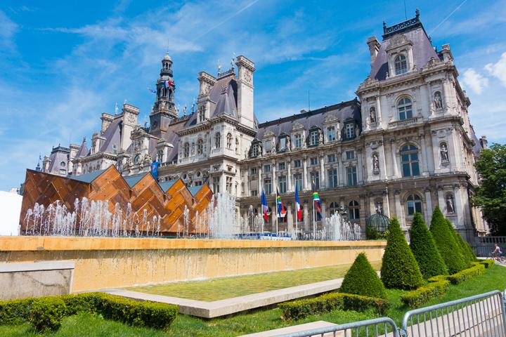 Hôtel de Ville, Paris City Council Building