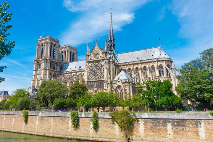 Notre Dame Cathedral Side View — BEST Things To Do In Paris
