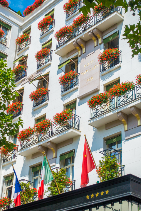 Hotel Napoleon In Paris, France
