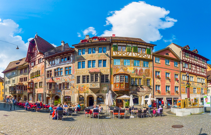 Three Incredible Day Trips from Zurich - Rhine Falls, Stein am Rhein, and Lichtenstein!