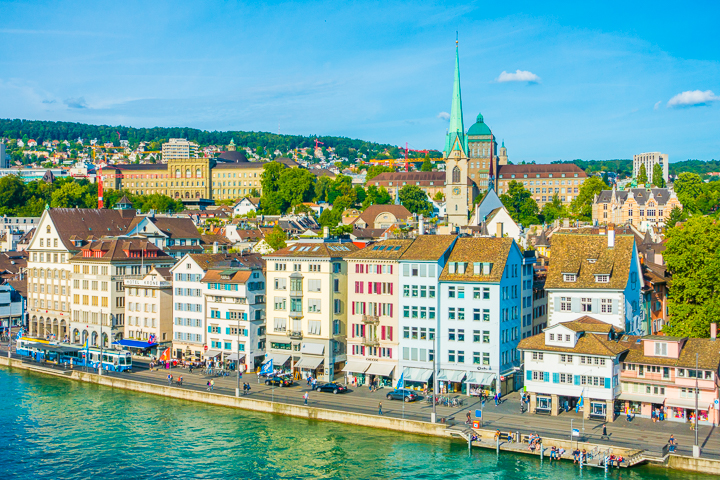 Beautiful sites + Where to find the BEST Chocolate in Zurich, Switzerland!