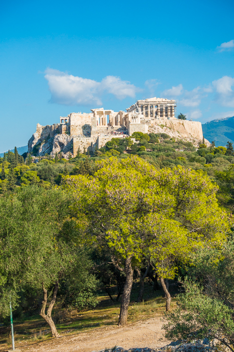Best View of the Acropolis of Athens