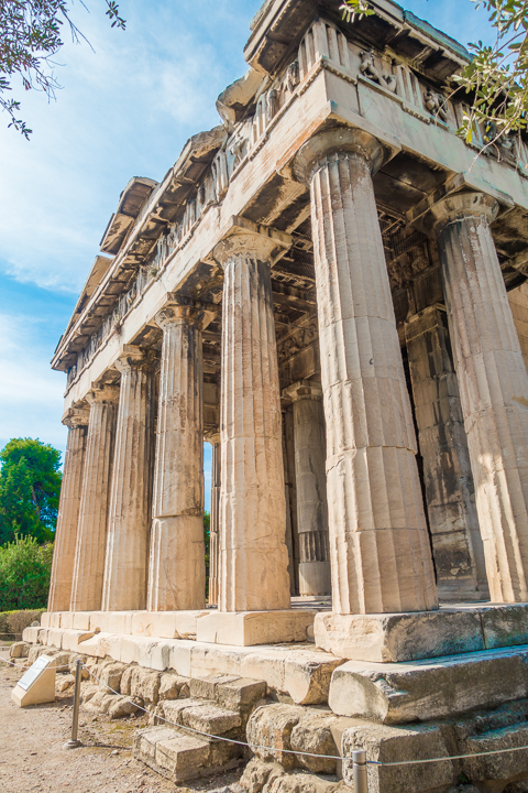 Temple of Hephaestus at the Ancient Agora of Athens