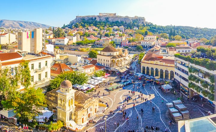 Best view of Athens Greece