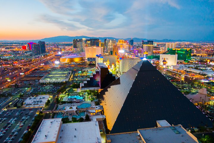 Image of Vegas From Above