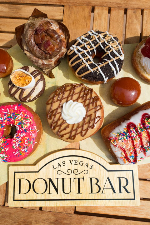 The most fun, outrageous, over-the-top food in Vegas!!