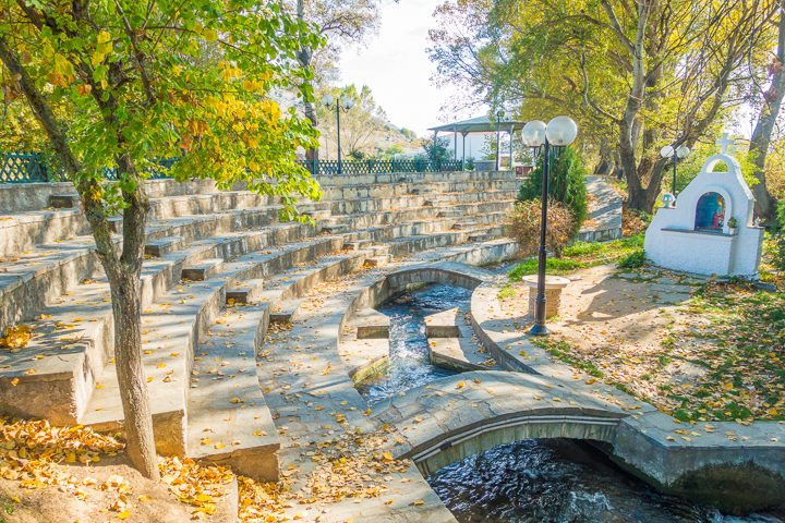 Walking in the footsteps of Apostle Paul in Thessaloniki and Phillipi, Greece.
