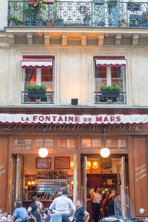 Bistro Le Valentino in Paris