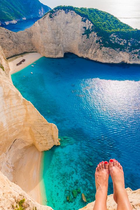 Shipwreck Beach, Navagio Beach, Zakynthos, Greece