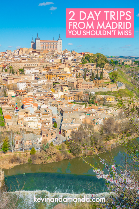 Best Day Trips from Madrid - Toledo & Segovia