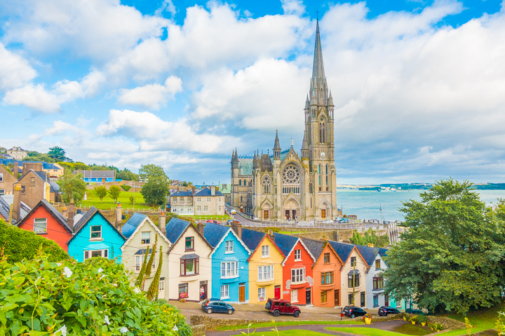 The cutest, most colorful towns in Ireland! Cork, Cobh, and Kinsale
