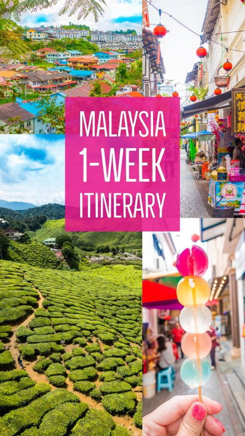 The Ultimate Malaysia Checklist -- A 1-week itinerary to make sure you see and do all the best things in Malaysia!
