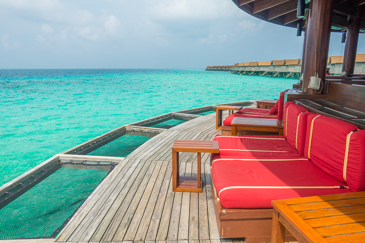 Dream vacation!! A private water villa in the Maldives...