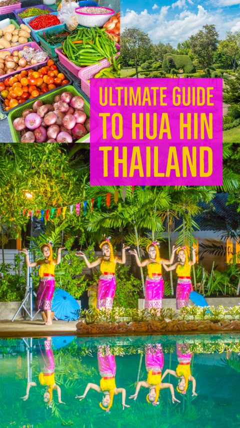 Weekend Getaway in Hua Hin, Thailand -- the Thai Royal Family used to spend their summers here!