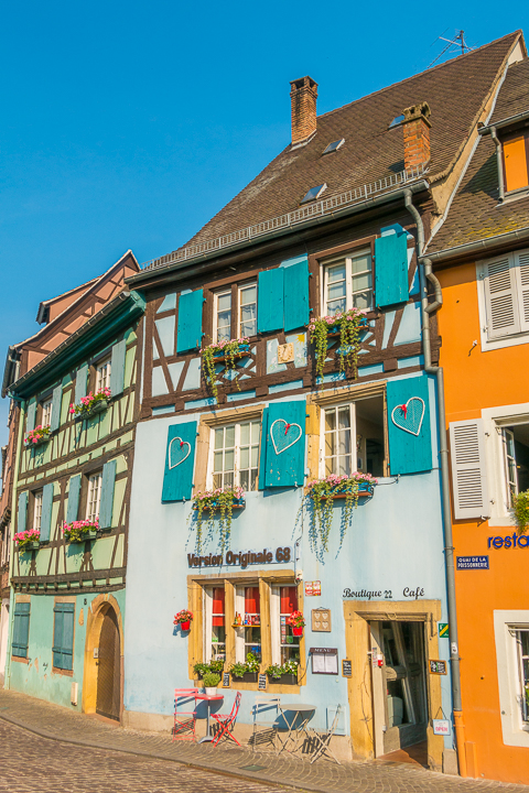 Colmar, France. This colorful, medieval village may may be the most beautiful small town in France!