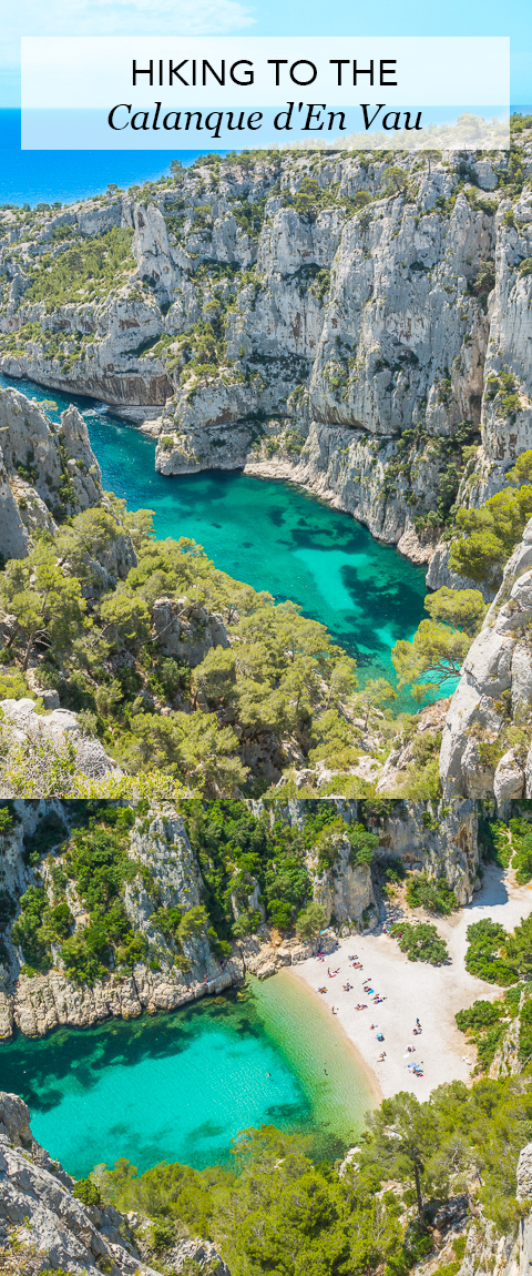 Everything you need to know about hiking to the Calanque d'En Vau in Cassis, France on the French Riviera