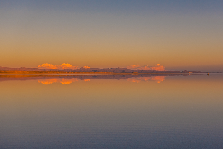 Salt Flats Bolivia — Sunset at the Salar De Uyuni
