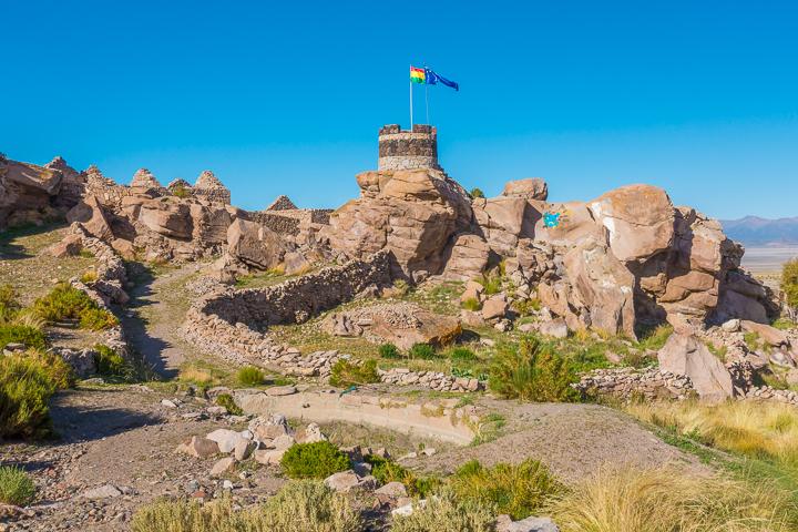 Salt Flats Bolivia — San Pedro de Quemes near the Salar De Uyuni