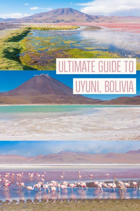 Salt Flats Bolivia — Salar De Uyuni