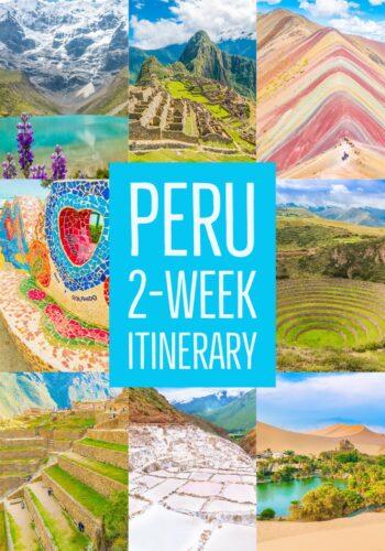 2 Week Peru Itinerary