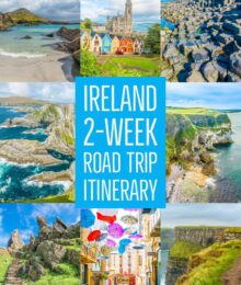 Going to Ireland? Here's a two week road trip itinerary that will make sure you see and do all the best things in Ireland!