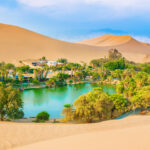 A real oasis in the desert of Peru! This is one of the best day trips you can take from Lima. Huacachina, Peru.