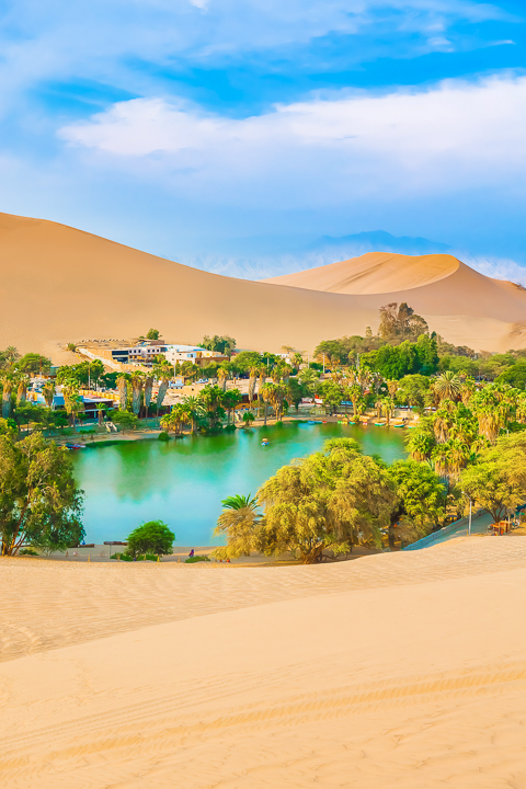 Huacachina Peru — Day Trip from Lima Peru.