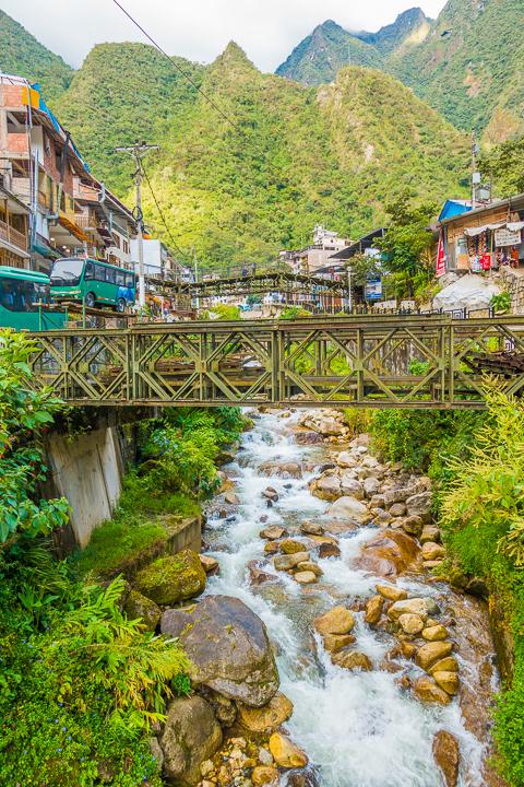 Aguas Calientes Peru — Machu Picchu