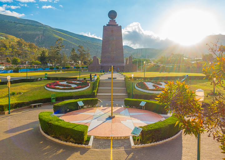 Equator in Quito