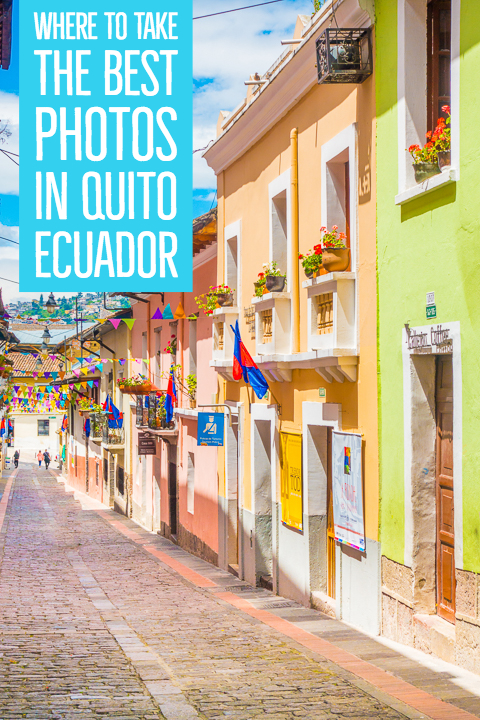 Quito, the capital of Ecuador