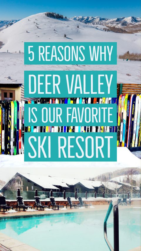 Deer Valley Ski Resort ~ One of the BEST Utah Ski Resorts!