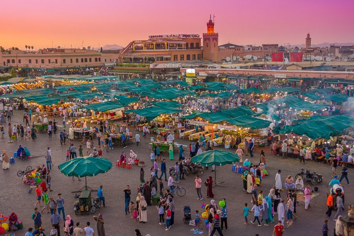 The ultimate guide to Marrakesh, Morocco. Here are the best things to do in Marrakesh, how many days you should spend in Marrakesh, plus all about Ouzoud Falls, the best day trip from Marrakesh!
